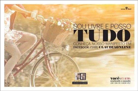Campanha Revista CLAUDIA 2014