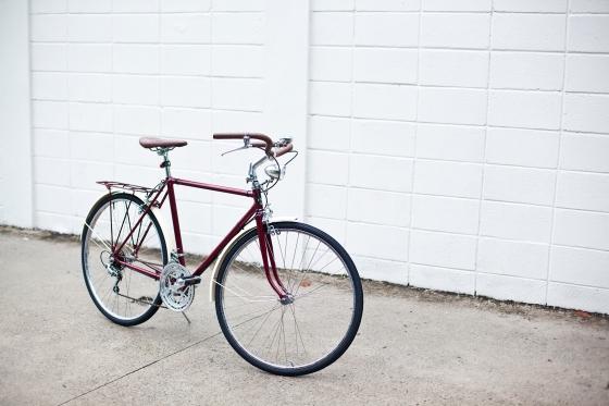 bicicleta caloi restaurada