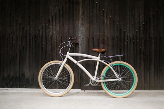 Madeleine, a beach bike da Mira