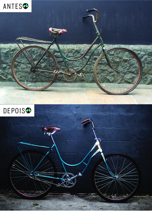 A Jagaren antes e depois do trabalho. Foto Raquel Espirito Santo